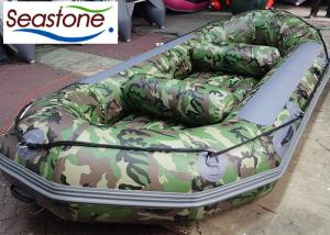China Camouflage White Water Rafting Boat 360cm ST-SF360 Independent Chambers on sale