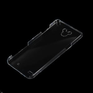 Quality 明確な日本の携帯電話堅いカバー ディズニーDM-02Hのための水晶PCの箱 for sale
