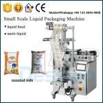 中国の製造業者250mlのココナッツ ミルクのパッキング機械