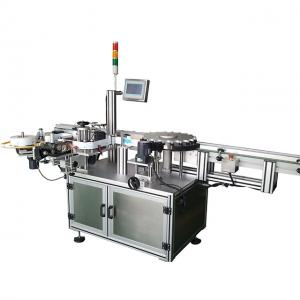 China Carton Double Sides Sticker Automatic Label Applicator Machine High Efficient on sale
