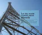 5G Communication Network 30-70m Construction Angle Steel Telecom Tower