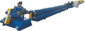China Shutters Slat Door Frame Roll Forming Machine With PU Foam , Roll Forming Line on sale