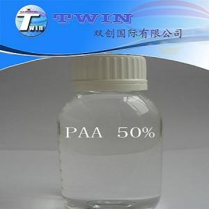 Quality 50% Polyacrylic Acid as scale inhibitor and dispersant PAA for sale