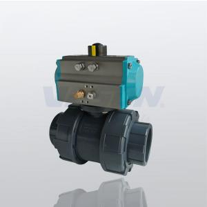 China TU Pneumatic Operated Ball Valve, Pneumatic Pressure Control Valve Long Using Life on sale