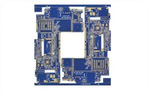 China Blue BGA Rigid PCB Board High TG180 2 OZ Copper Thickness 1.6MM Board Thickness on sale