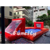Air Sealed Magic Inflatable Football Court Inflatable Sports Games
