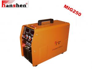 China high frequency portable electrical welding machine MIG250F for aluminum welding on sale