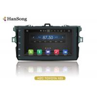 Navigation System Android Car DVD Player For Toyota Corolla 2007 , Android Car Stero