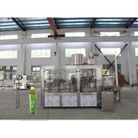 High Speed 3 In 1 Hot Filling Machine , Beverage Bottling Line Automatic