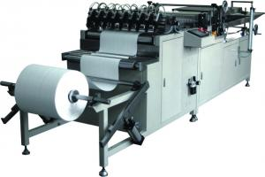 China Rotary Eco Filter Pleating Machine Full Automatic 5200 × 1190 × 1170mm Size on sale