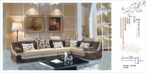 China modern design living room fabric corner sofa on sale