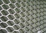 Rhombus Hole Expanded Metal Mesh Hot Dipped Galvanized Surface Thickness 4mm