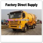 LHD & RHD 6x4 Tri-Ring 375HP 8--12CBM concrete cement mixer truck for Angola