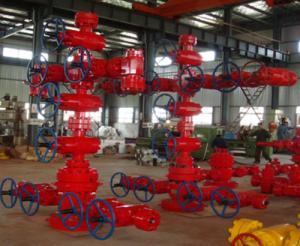China Wellhead Equipment API 6A 2-1/16 3000psi Christmas Tree/X-Mas Tree on sale