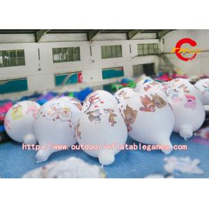China Blimp Advertising Inflatable Hot Air Balloon PVC Air Ball For Business Center Rental on sale
