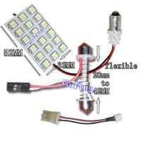 China Custom 18 SMD / 5050 SMD Low Power Consumption Pink LED Car Dome Lights for Interior on sale