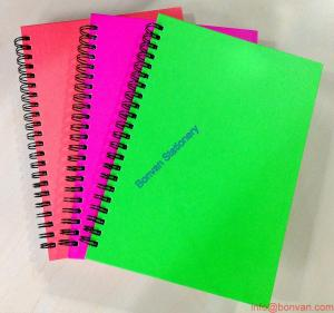 China colorful customized office use wire spiral notebook,spiral notebook,office use notebook on sale