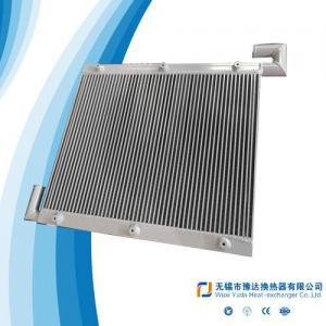 China Excavator Oil cooler, loader oil cooler, tractor oil cooler aluminum plate bar heat exchanger, plate bar oil cooler on sale