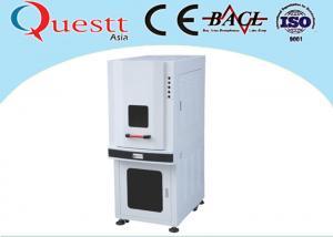 China Sealed Type UV Laser Marking Machine 355 nm Wavelength With Imported Lens on sale