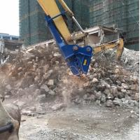 Concrete demolition tools excavator small rock crusher for sale