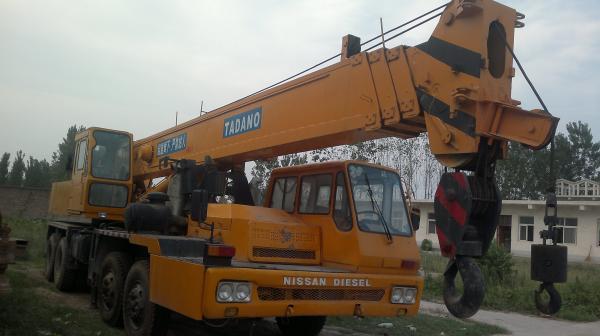 Used Tadano TG-400E 40 tontruck crane tadano 40 ton truck