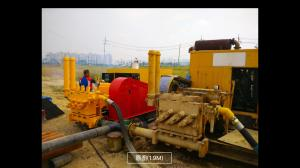 China Mud Pump Station Drilling Mud Pump For HDD Machine Pipelaying Project 1500L on sale
