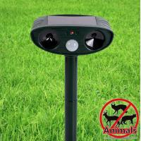 Solar Sonic Ultrasonic Electronic Led Animal Dog Cat Pest Insect Repeller Away Chaser Stop