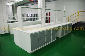 Quality Epoxy resinchemical resistance laboratory bench top / laboratory workbench for sale