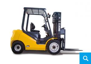 China XCMG official manufacturer 1.5-1.8 ton diesel forklift truck with Robust and Reliable Diesel Engine on sale