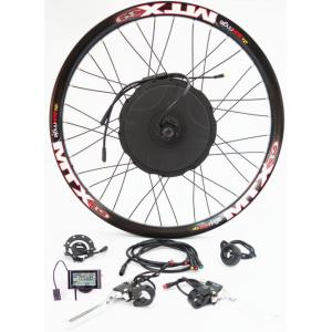 China 26 Inch Mtx Rear Wheel Electric Bike Kit 48v 1000w Cycling Motor , Bicycle Electric Conversion Kit on sale