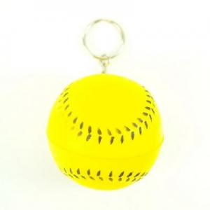 China wholesale price Baseball Sport Ball Keychain Key Ring on sale