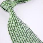 Microfiber Silk Woven Necktie Colorful Tie for men Italian Style