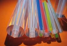 China Round Clear Bargraph Acrylic Rods And Tubes 1mm to 300mm Diameter on sale