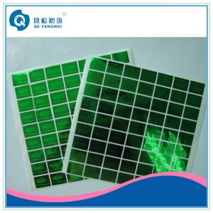 China Etiquetas feitas sob encomenda de carimbo quentes do holograma para o empacotamento do recipiente/caixa on sale