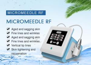 China 3.0mm Depth Portable Wrinkle Removal / Skin Care Fractional RF Microneedle Machine on sale