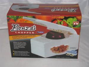 China Bonzai Chopper kitchen pro dicer as seen on tv with 3 storage containers on sale