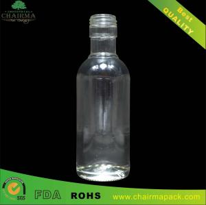 China 188ml Blown Glass Bottle for Vodka on sale