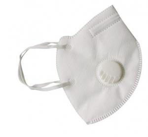 China Non-woven Disposable Folded N95 Surgical Dust Proof Face Mask Respirator with Valve on sale