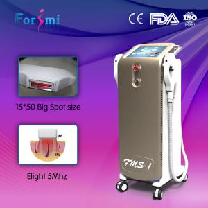China Medical use The best laser hair removal machines ipl shr machine with ice-light on sale
