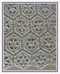 Molhe a tela de dissolução do laço, tela solúvel em água do laço, tela do laço do Água-Solute