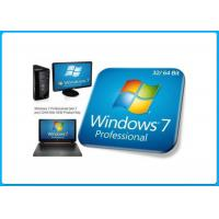 Microsoft Windows 7 Pro Retail Box 32bit/  64bit System Builder DVD 1 Pack - OEM key