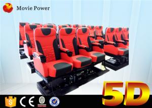China 6 / 9 / 12 Seats 5d Cinema System 6 Dof Platform large 5d Theater 5d Cinema Equipment on sale
