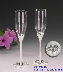 Elegant Design Goblet Wine Glass, Wedding Party Champagne Glasses ...