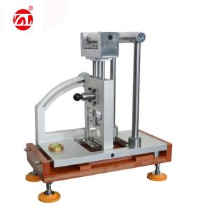 China ASTM-F1677 Lab MARKII Portable Leather Testing Machine / Elbow Toggle Anti - Slip Testing Equipments on sale