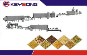 China Corn Flakes Food Processing Machinery , Breakfast Cereal Machine on sale