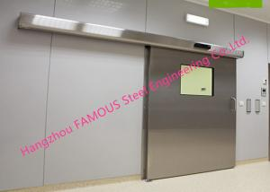 China Lightweight Stainless Sliding Door Smart Access System With Polyurethane Core Door Panel on sale
