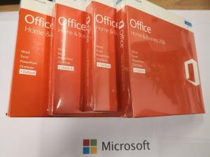 China Multipal Language Microsoft Office 2016 Home and Business Rretail Package Genuine DVD Full Version Office 2016 HB on sale