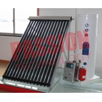 China Professional White Split Solar Water Heater With Heat Pipe Solar Collector on sale