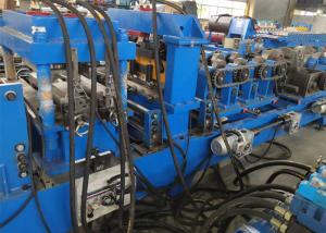 China Low Noise Steel Frame CZ Purlin Roll Forming Machine , Roll Forming Equipment on sale