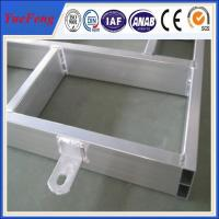 Welded aluminum frame with ISO and RoHS Certificate, aluminum welding profiles
